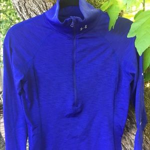 Under Armor purple blue women's base layer
